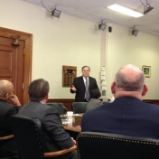 Visit and update from Senate President Robert Stivers