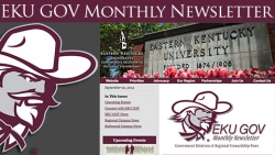 EKU GOV Monthly Newsletter